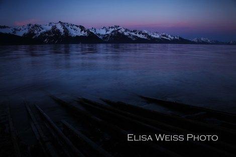 The elusive Alaskan summer twilight.